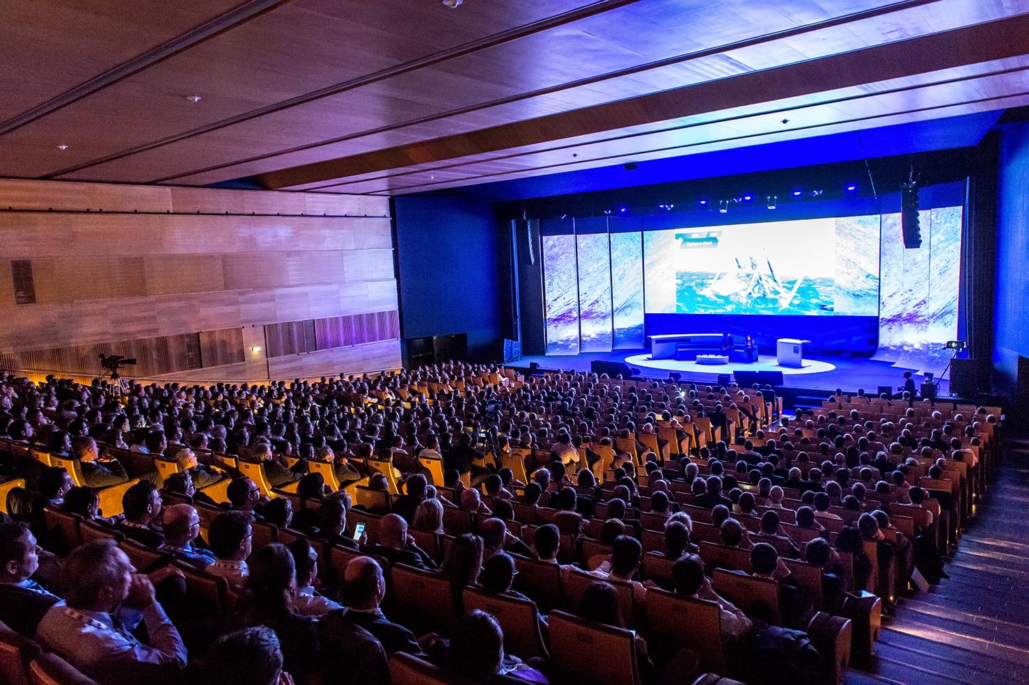 Auditorium 800 La Cité des Congrès de Nantes convention congrès événement